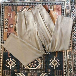 "VTG 100% Silk Calvin Klein Pants | 30"""